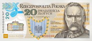 kolekcjonerskie banknoty NBP - Legiony Polskie