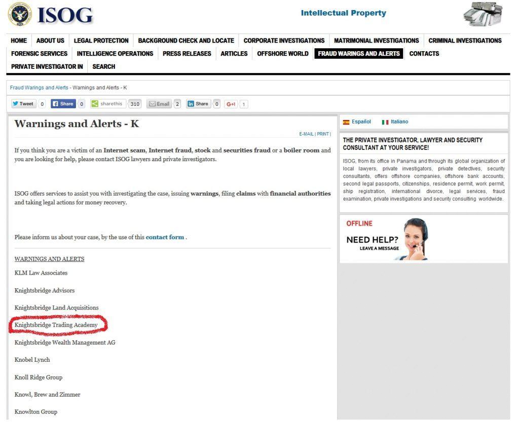 szkolenia - ISOG Inc.