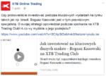 nagranie spotkania XTB Trading Club