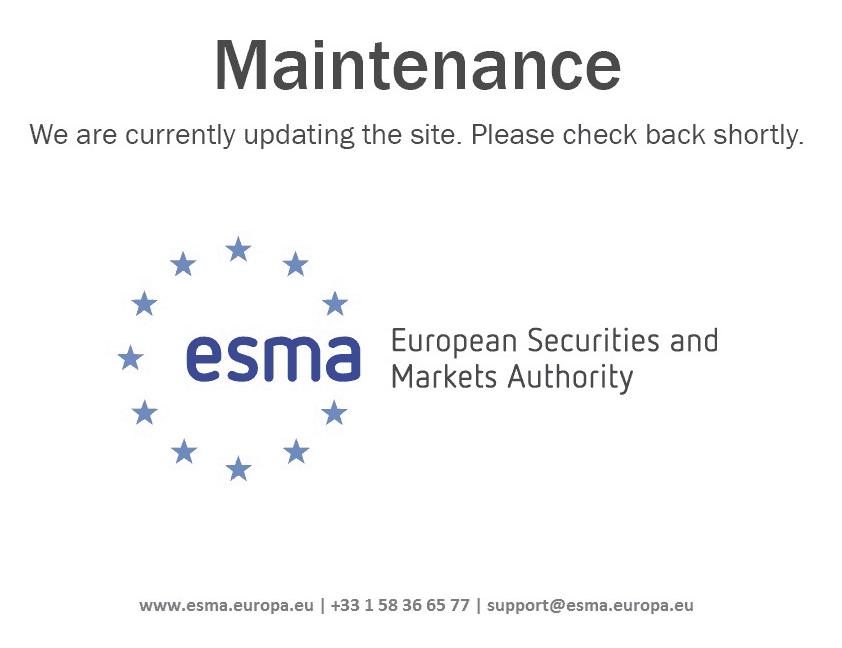 społeczne konsultacje ESMA