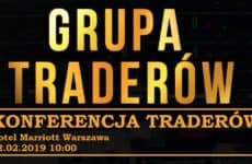 Grupa Traderów konferencja 2 luty 2019