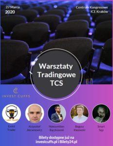 Warsztaty Tradingowe Trading Club Szczecin podczas Invest Cuffs 2020